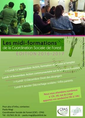 Midi Formations 2016   2017